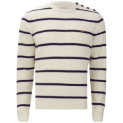 Farah 1920s Men's Ewart Sweater - Ecru