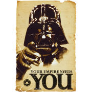 Star Wars Empire Needs You - Maxi Poster - 61 x 91.5cm