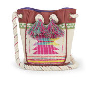 Amenapih Women's Bagoo Duffle Bag - White/Multi