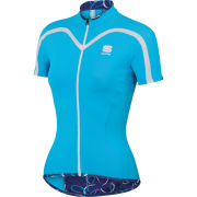 Sportful Charm Women's Short Sleeve Jersey - Blue
