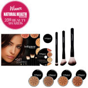 Bellapierre Cosmetics Get Started Kit Deep (Worth £154.97)