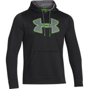 Under Armour Men's Storm Undisputed Hoody - Black/Gecko Green