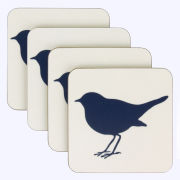 Anorak Kissing Robins Coasters (Set of 4)