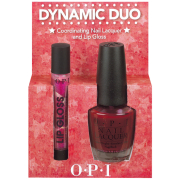 OPI Dynamic Duo - Meep-Meep-Meep & Holiday Lip Gloss