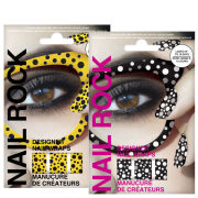 Rock Cosmetics Nail Rock Nail Wrap Duo- Seeing Spots Yellow and Black