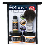 eShave Orange Sandalwood Travel Kit
