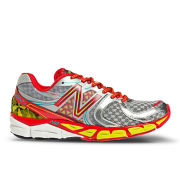 New Balance Women's W1260SR3 Stability Running Shoes - Silver/Red