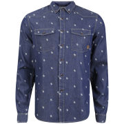 Smith & Jones Men's Librae Shirt - Dark Blue Denim
