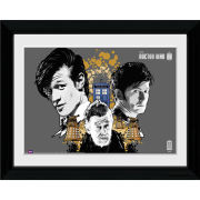Doctor Who 50th Anniversary Anthony Dry - 30 x 40cm Collector Prints