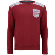 Conspiracy Men's Trosa Sweat - Burgundy