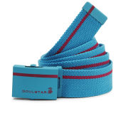 Soul Star Men's Web Belt - Neon Blue