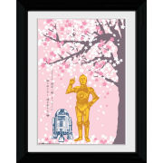 Star Wars Cherry Blossom - Collector Print - 30 x 40cm