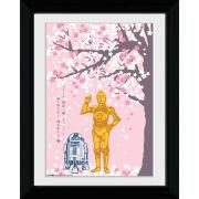 Star Wars Cherry Blossom - Collector Print - 30 x 40cm
