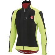 Castelli Elemento 7x(Air) Jacket - Black/Yellow Fluo