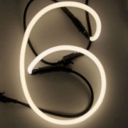 Seletti Neon Font Shaped Lamp - 6