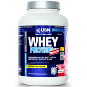 USN 100% Whey Protein - Strawberry 908g