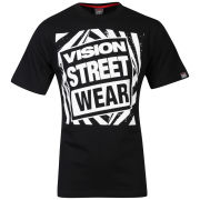Vision Men's Gator Logo T-Shirt - Black