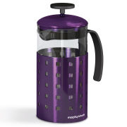 Morphy Richards Accents 8 Cup Cafetiere - Plum
