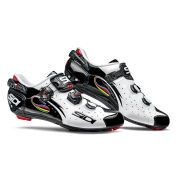 Sidi Wire Carbon Vernice Cycling Shoes - White/Black/Rainbow - 2015