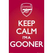 Arsenal Keep Calm - Maxi Poster - 61 x 91.5cm