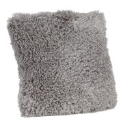Malini Faux Mongolian Cushion - Grey