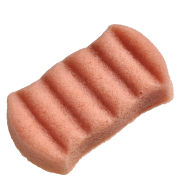 Konjac 6 Wave Body Sponge Pink French Clay
