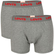 Levi's Men's Ethan 2-Pack Boxer - Grey