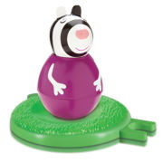Zoe Zebra Weebles Wobbly Figure and Base