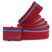 Soul Star Men's Web Belt - Neon Red