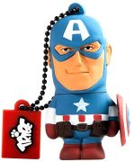 Tribe Marvel Avengers USB Flash Drive 8GB - Captain America Figure