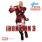 Dragon Action Heroes Marvel Iron Man Mark 7 Special Edition 1:9 Scale Figure
