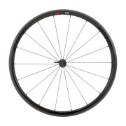 Zipp 202 Firecrest Carbon Clincher Front Wheel 18 Spokes - Black Decal 2015