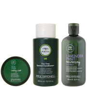 Paul Mitchell Tea Tree Special for Men Trio- Shampoo, Conditioner & Shaping Cream