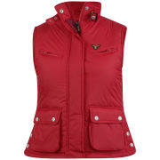 Le Breve Women's Vallo Gilet - Red