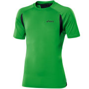 Asics Men's Race Short Sleeve T-Shirt - Power Green