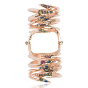 Katie Rowland Carmilla Venom Wrap 18 CT Knuckle Ring - Rose Gold