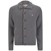 Original Penguin Men's Button Knit Cardigan - Castlerock Grey
