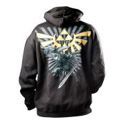 The Legend Of Zelda - Hoodie (Black/Gold)