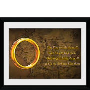 Lord of the Rings One Ring - 30x40 Collector Prints