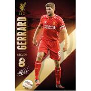 Liverpool Gerrard 14/15  - Maxi Poster - 61 x 91.5cm