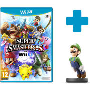 Super Smash Bros. for Wii U + Luigi No.15 amiibo