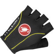 Castelli Free Gloves - Black/Yellow