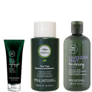 Paul Mitchell Tea Tree Special for Men Trio- Shampoo, Conditioner & Styling Gel