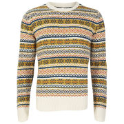 Brave Soul Men's William Jumper - Barley