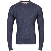 Tokyo Laundry Men's Stockport Crew Neck Knit - Denim