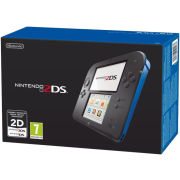 Nintendo 2DS Console (Black + Blue)