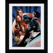 Star Wars Saga Collage - Collector Print - 30 x 40cm