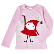 Girls' Holly Glow In The Dark T-Shirt - Pink