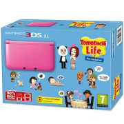 Nintendo 3DS XL Pink Console - Includes Tomodachi Life