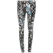 2nd One Women's Blue Bamboo Jeans - Blue/White/Turquoise